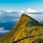 the magnificent mountain in con dao island