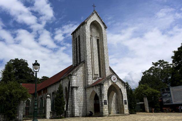 the stone church in sapa