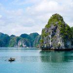 the stunning halong bay in vietnam