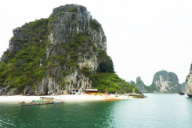titov island halong bay north to south vietnam tour