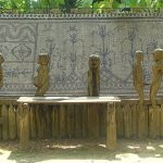 tombs at museum of ethnology