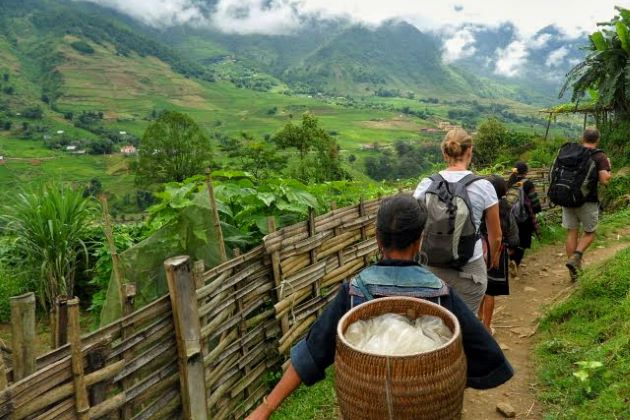 trekking in sapa lao cai vietnam