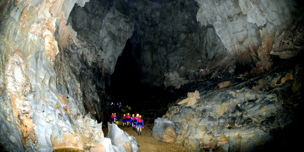 The entrance of Dark Cave