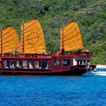emperor junk cruise in nha trang