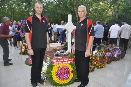 Australia veterans visit Long Tan
