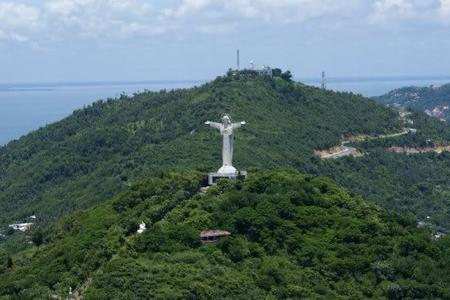 Panoramic view of Jesus Statue