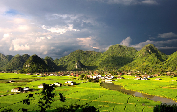 Scenic view of Ninh Binh