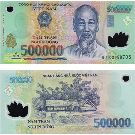 Two Sides Of The Same 500 000 Vnd