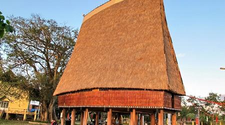 Communal house in Tay Nguyen