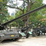 American battle tanks in War Remnants Museum