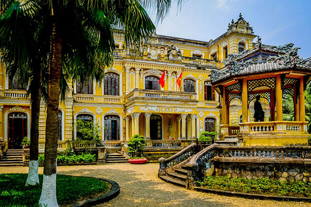 An Dinh Cung Palace - vietnam architecture under nguyen dynasty