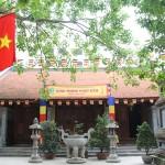 Ba Da Pagoda in Hanoi