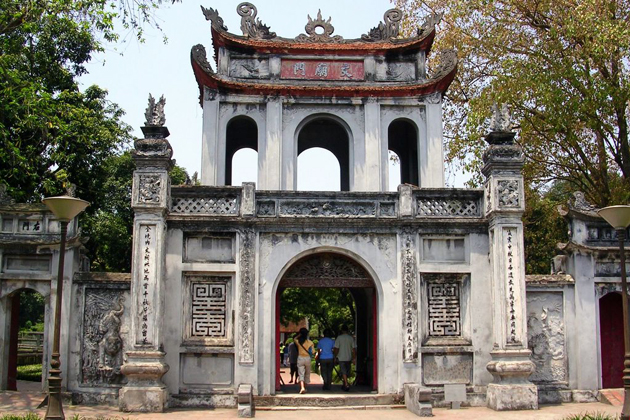 Entrance gate of Literature Temple