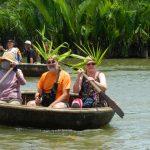 Boat trip in Thu Bon River, Hoi An
