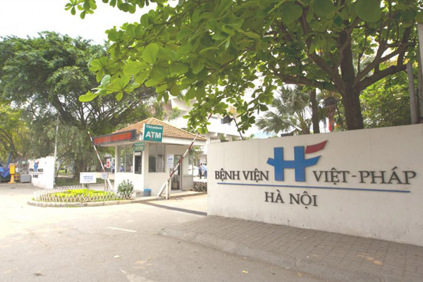 One of the famous hospitals in Vietnam
