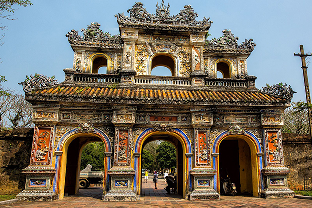 Hue Imperial City architecture under Nguyen Dynasty