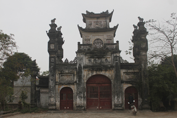 Luy Lau is the old capital in Vietnam