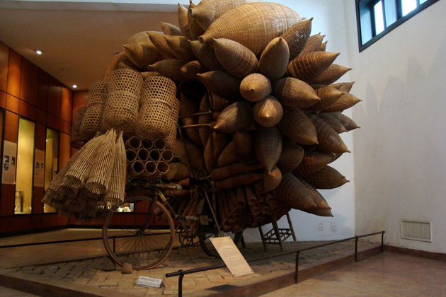 Many items and objects of Vietnamese ethnic are on exhibition, Museum of Ethnology