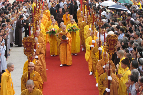 The Ly Dynasty is the first Buddhist reign in Vietnam
