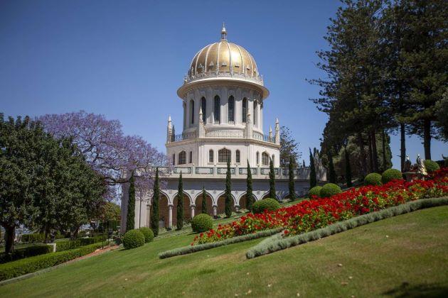 The Shrine of Báb and Terraces in Haifa Israel