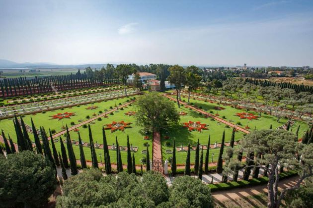 The Shrine of Bahá'u'lláh in Haifa Israel