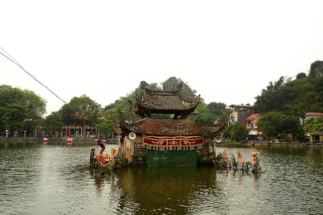 Towers of Thay Pagoda