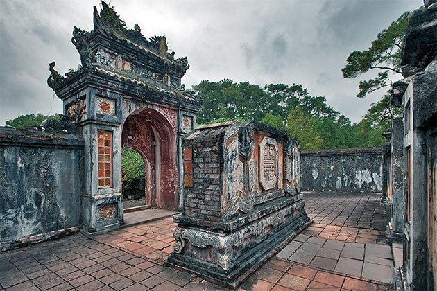 Tu Duc King Tomb Architecture