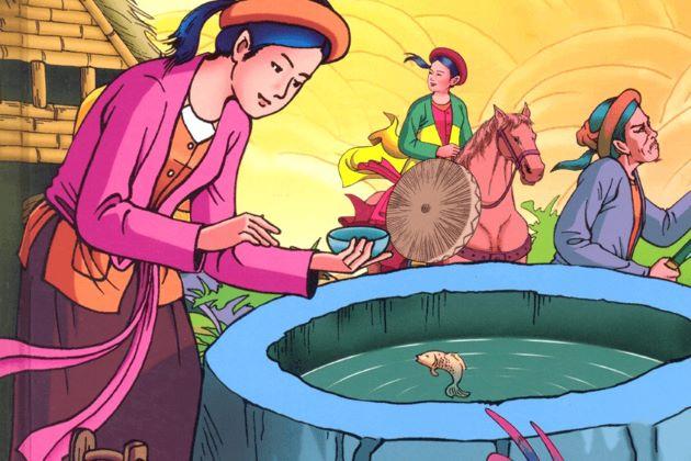 Vietnamese fairy tales tam cam