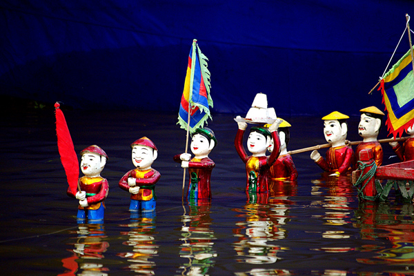 Water Puppetry - a Folk Entertainment