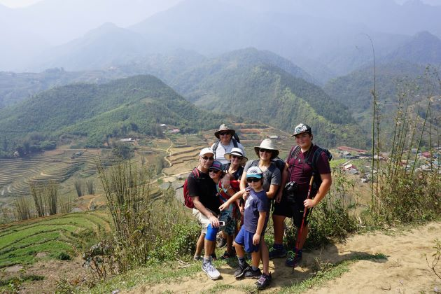 family trips to vietnam in sapa