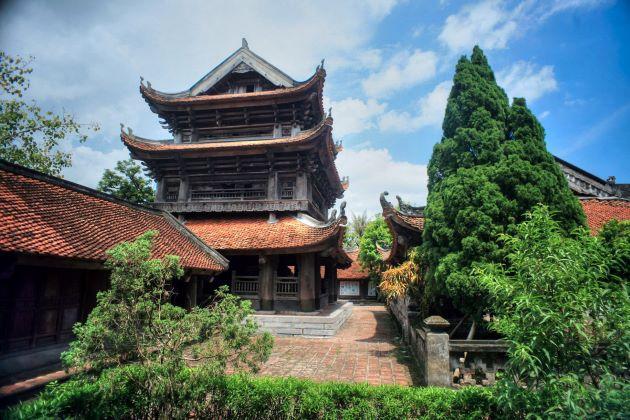 keo pagoda Influence of Buddhismon Traditional Vietnamese Architecture