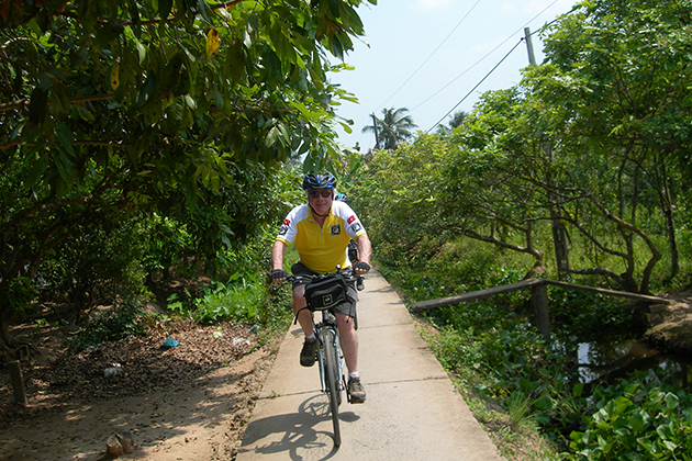 mekong delta cycling tour vietnam tour itinerary 12 days