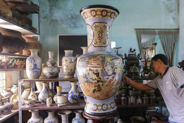 pottery made in mekong delta