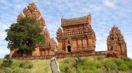 Türme Po Klong Garai. Die besterhaltenden Cham Türme