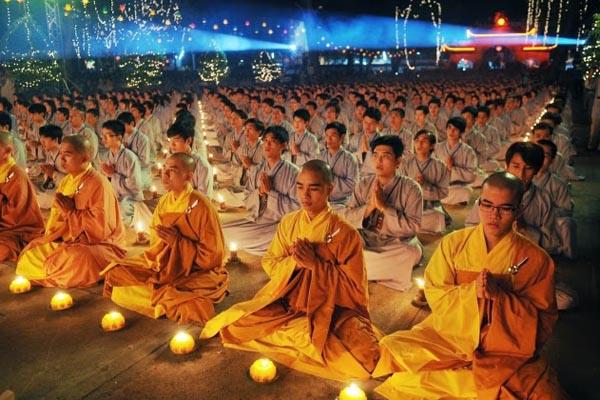 Buddhism monks in Vietnam
