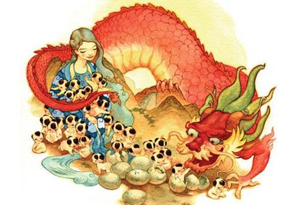 The Vietnamese Dragon: Legend, History & Geography - Viet