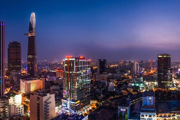 ho chi minh city is