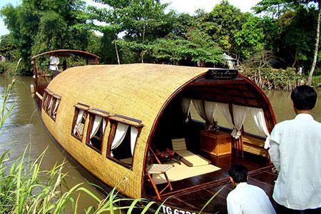 3 Day Song Xanh Sampan Cruise on Mekong River