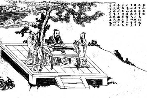 Three Social Ties in Confucianism