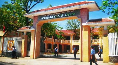 Tran Cao Van secondary school