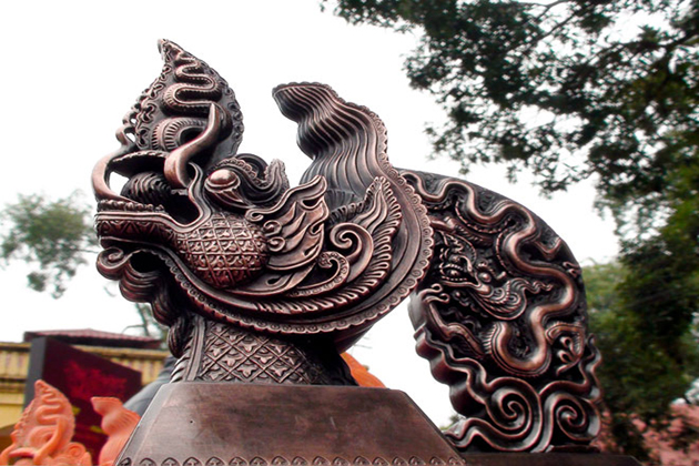vietnamese dragon in ly dynasty