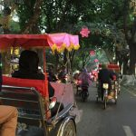Cyclo tour around the old quarters of Hanoi