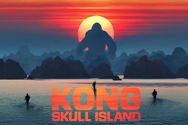 Kong Skull Island shot in Halong, Vietnam