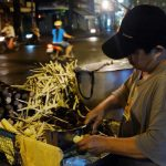 Street vendor in Chinatown, Saigon
