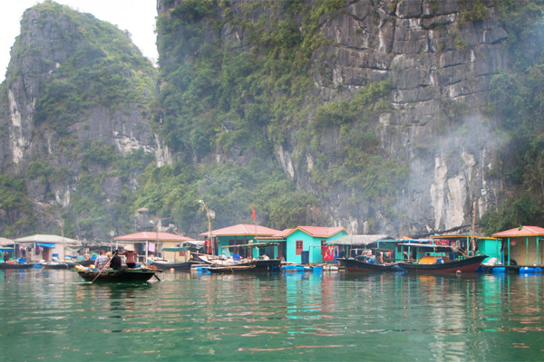 Vung Vieng floating fishing village