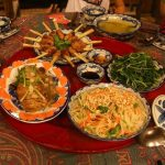 enjoy the meal of local specialties at moon garden homestay