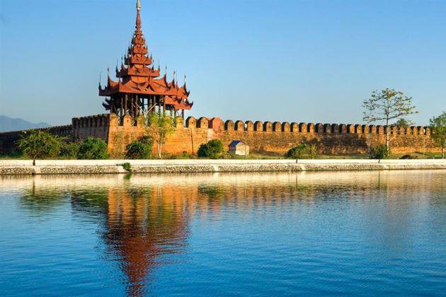 mandalay palace in burma