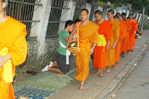 morning monk vietnam and laos trip