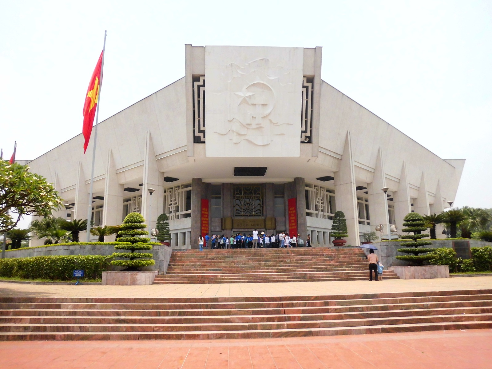 Entrance gate of Ho Chi Minh Museum