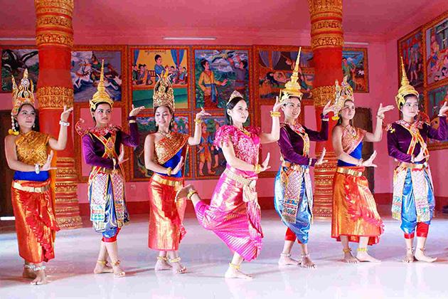 Festival of Khmer people in Soc Trang